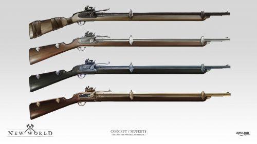 Гайд по легендарному оружию в New World